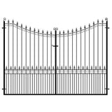 Metal Estate Gates - The Chelmsford design