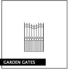 Metal Garden Gates. Handcrafted in the UK to any width or height. Huge range of designs available online to choose from.
