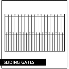 Metal Sliding Gates. Handcrafted by the UK's largest bespoke gate manufacturer.