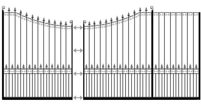example of chelmsford sliding gate