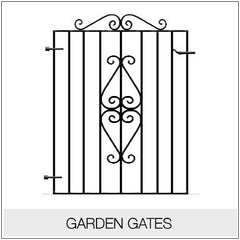 Garden Gates - Metal, Wrought Iron Gate