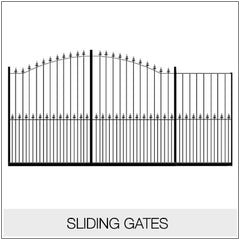 Sliding Gates - Metal/ Wrought Iron