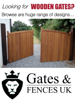 Wooden Gates? See Gates and Fences UK