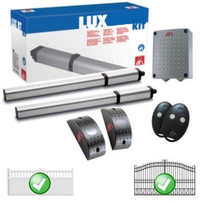 Double Swing Automation Bft Lux Evador