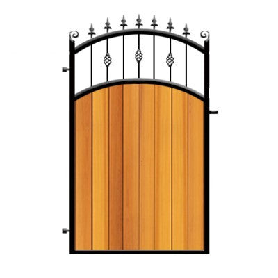 gates security secure side sheet panels gate securifix fixed ps garden alley sheeted min external steel and with panel