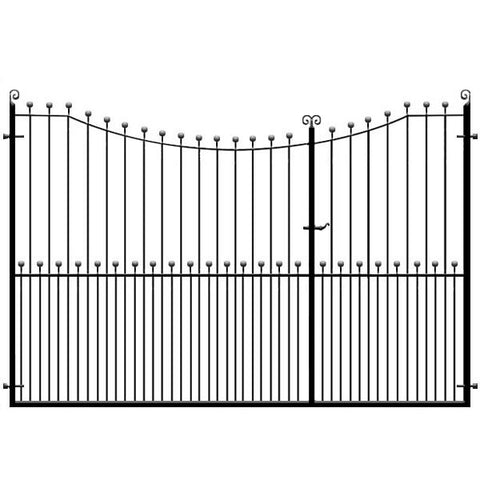 Peacehaven 3/4 Split Driveway Gate from