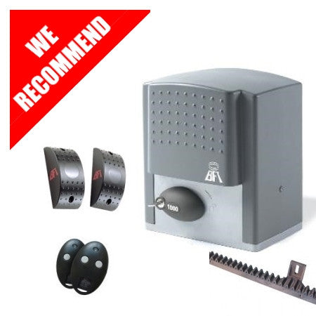 24v BFT Ares Sliding Gate Kit