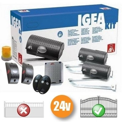 24v BFT Igea Gate Automation Kit