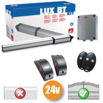 BFT LUX BT Single Arm Automated Gate