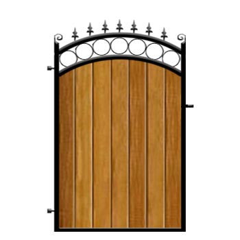 Bath Garden Gate from
