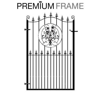 Buckinghamshire wrought iron garden gate