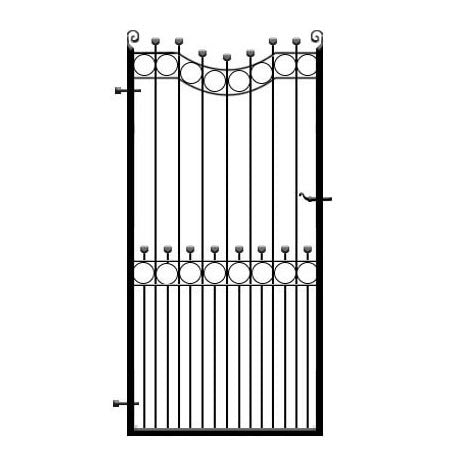 Hertfordshire wrought iron side gate