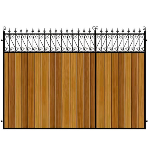 Lemmington 3/4 Split Driveway Gate from
