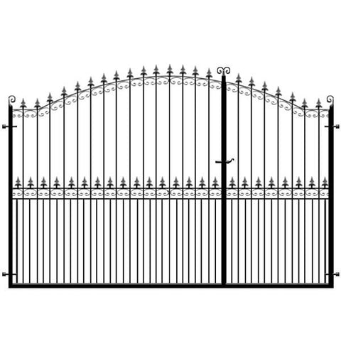 Francombe 3/4 Split Driveway Gate from