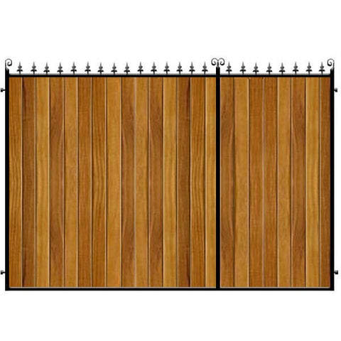 Middleton 3/4 Split Driveway Gate from