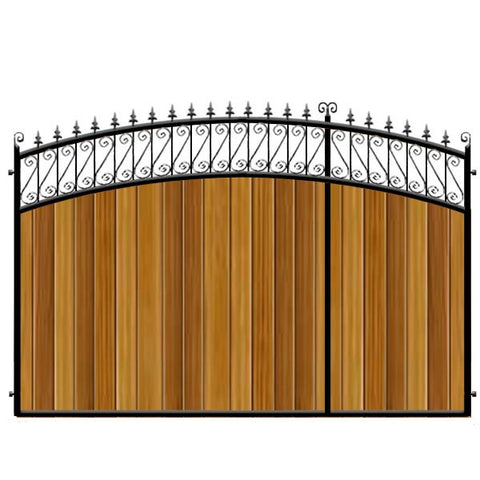 Oxford 3/4 Split Driveway Gate from