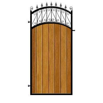 Oxford Side Gate from