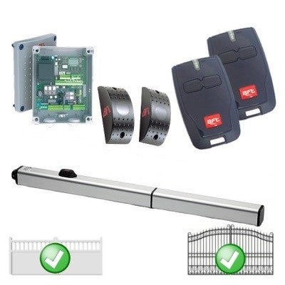 BFT P Series Single Automated Gate Kit