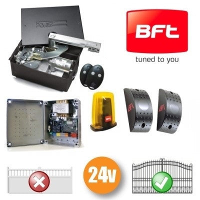 BFT Eli 250 BT 24v Single Underground Automation