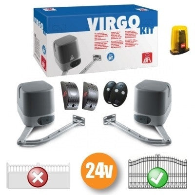 24v BFT Virgo Articulated Gate Kit