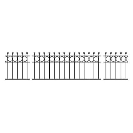 Hertfordshire Wrought Iron Railings