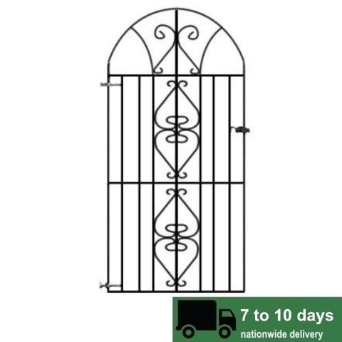Windsor Bow Top Metal Side Gate