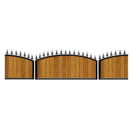 Oxford Metal Railings, Iroko