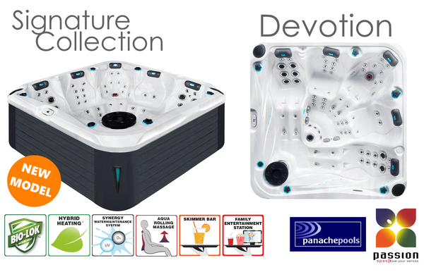 The Devotion hot tub Passion Spas
