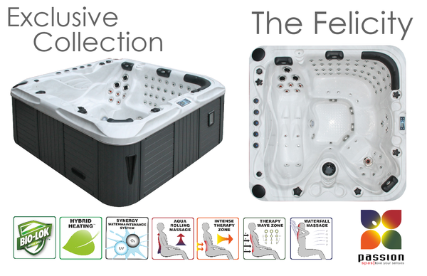 The Felicity Hot Tub for sale.