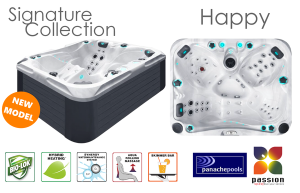The Happy Spa Hot Tub Passion Spas