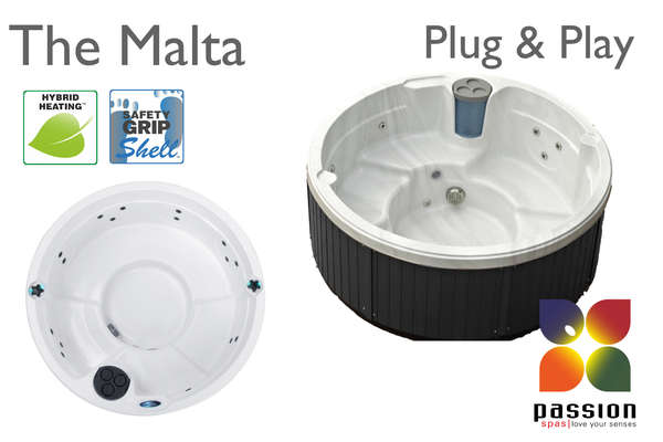 Malta hot tub from Passion Spas