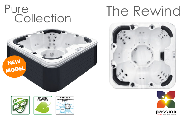 The Rewind hot tub from Passion Spas