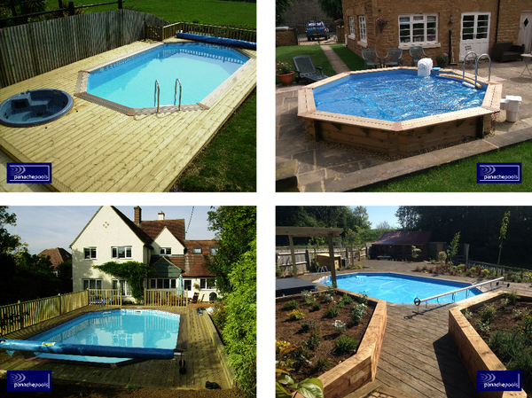 wooden pool examples