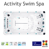 Swim Spa Activity Deep Passion Spas