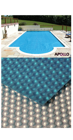 Apollo 400 Silver Blue Solar Cover