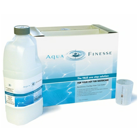 Aqua Finesse spa hot tub water treatment