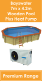 Bayswater Wooden Pool with Heat Pump