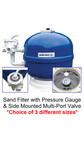 Sand Filter with Multi Port Valve