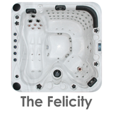 The Felicity 5 person hot tub
