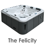 The Felicity 5 seater spa