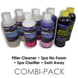 Filter & Cartridge Cleaner, Clarifier, No Foam, Swirl Away Combi-Pack