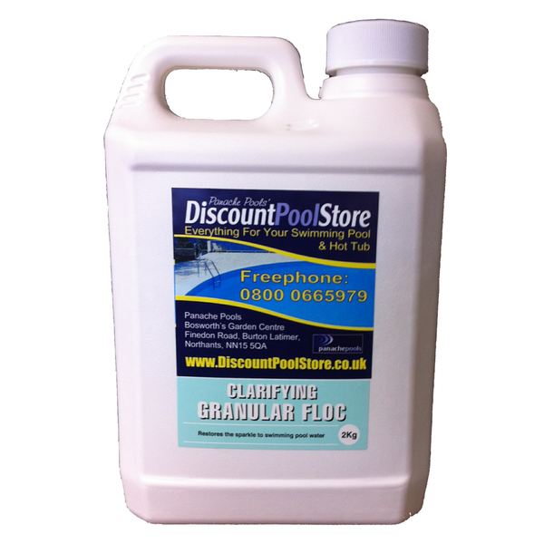 Clarifying Granular Floc 2kg Flocculent For Swimming Pools Panache Pools 39 Discount Pool Store