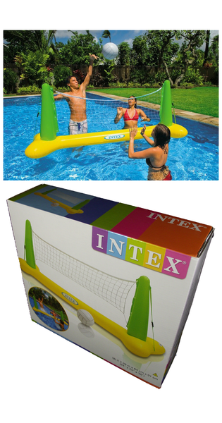Inflatable Volleyball Game Intex Panache Pools 39 Discount Pool Store
