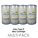 Filter Cartridge Intex Type B (Twin or Four Pack)