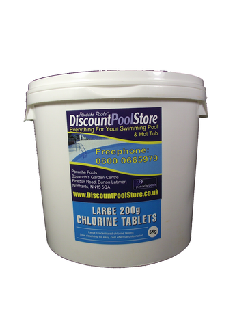 Large 200g Chlorine Tablets For Swimming Pools Panache Pools 39 Discount Pool Store
