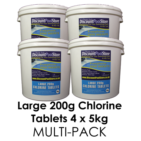 Large Chlorine Tablets 5kg