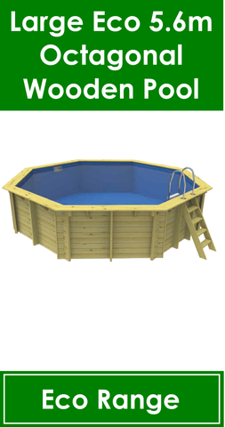 Large Eco Wooden Pool