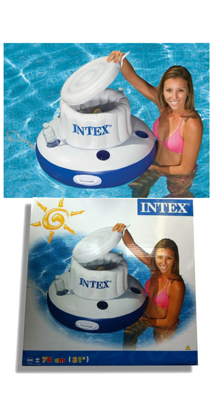 Hot Tub Drink Holder >> Mega Chill Inflatable Floating Drinks Holder Intex – Panache Pools' Discount Pool Store
