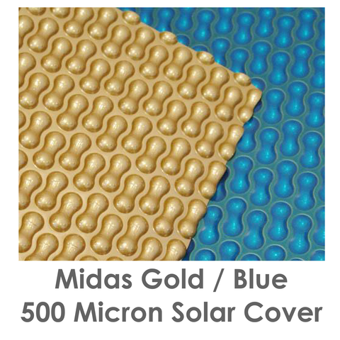 Midas Gold Blue 500 micron solar cover.