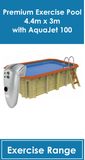 Premium Exercise Pool AquaJet 100